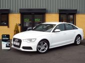 AUDI A6 2.0 TDI S LINE 4DR !! SAT NAV / FULL LEATHER !! - 626 - 1