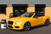 BENTLEY CONTINENTAL 4.0 V8 GTC 2DR !! HUGE SPECIFICATION !! - 757 - 2