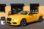 BENTLEY CONTINENTAL 4.0 V8 GTC 2DR !! HUGE SPECIFICATION !! - 757 - 1