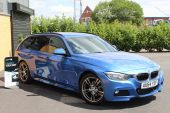 BMW 3 SERIES 2.0 320D M SPORT AUTOMATIC TOURING 5DR !! DAKOTA LEATHER | 26K MILES !! - 1028 - 6