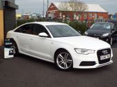 AUDI A6 2.0 TDI S LINE 4DR !! SAT NAV / FULL LEATHER !! - 626 - 5