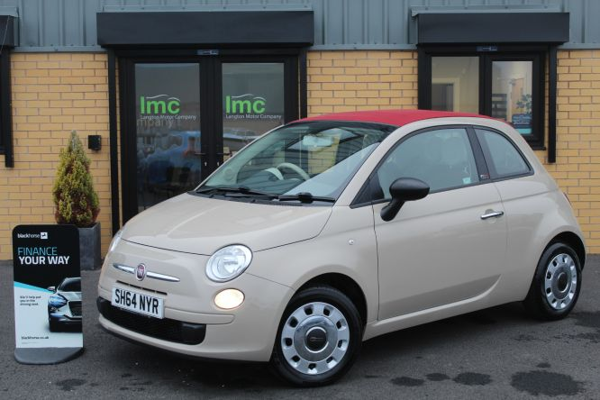 Used FIAT 500C in Doncaster for sale