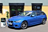 BMW 3 SERIES 2.0 320D M SPORT AUTOMATIC TOURING 5DR !! DAKOTA LEATHER | 26K MILES !! - 1028 - 2