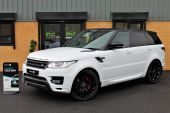 LAND ROVER RANGE ROVER SPORT 3.0 SDV6 AUTOBIOGRAPHY DYNAMIC 5DR !! HUGE SPECIFICATION !! - 866 - 1