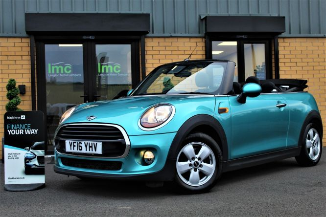Used MINI CONVERTIBLE in Doncaster for sale