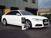 AUDI A6 2.0 TDI S LINE 4DR !! SAT NAV / FULL LEATHER !! - 626 - 9