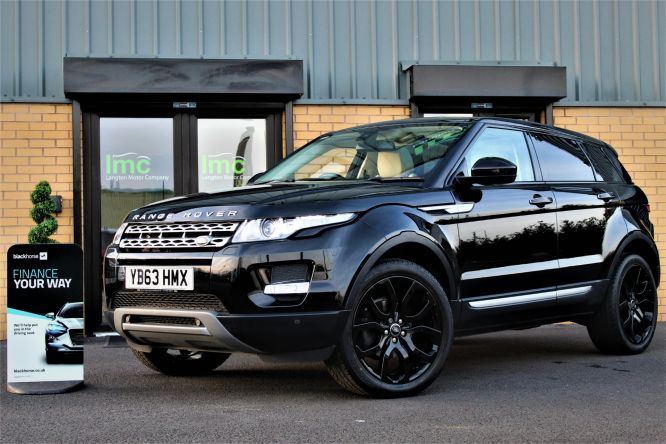 Used LAND ROVER RANGE ROVER EVOQUE in Doncaster for sale