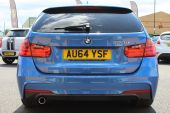 BMW 3 SERIES 2.0 320D M SPORT AUTOMATIC TOURING 5DR !! DAKOTA LEATHER | 26K MILES !! - 1028 - 17