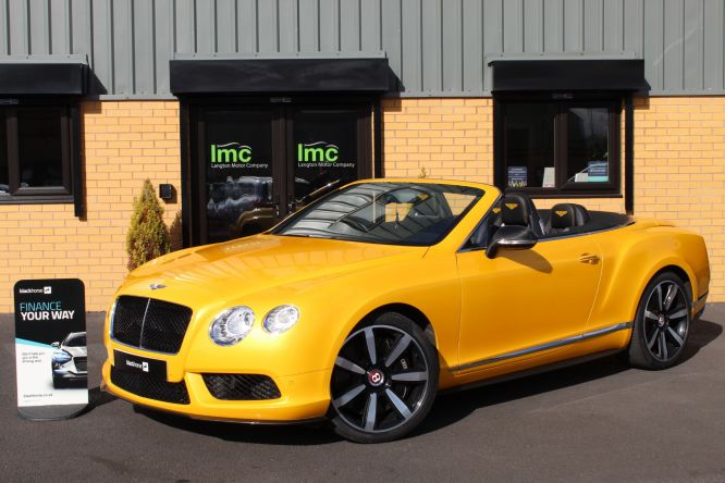 Used BENTLEY CONTINENTAL in Doncaster for sale