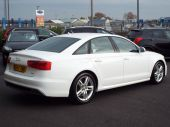 AUDI A6 2.0 TDI S LINE 4DR !! SAT NAV / FULL LEATHER !! - 626 - 12