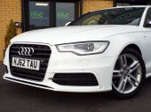 AUDI A6 2.0 TDI S LINE 4DR !! SAT NAV / FULL LEATHER !! - 626 - 4