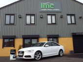 AUDI A6 2.0 TDI S LINE 4DR !! SAT NAV / FULL LEATHER !! - 626 - 2