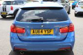 BMW 3 SERIES 2.0 320D M SPORT AUTOMATIC TOURING 5DR !! DAKOTA LEATHER | 26K MILES !! - 1028 - 16