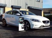 VOLVO V40 1.6 D2 R-DESIGN LUX 5DR !! FULL HEATED LEATHER !! - 611 - 9