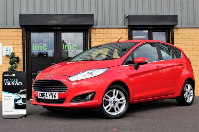 Used FORD FIESTA in Doncaster for sale
