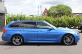 BMW 3 SERIES 2.0 320D M SPORT AUTOMATIC TOURING 5DR !! DAKOTA LEATHER | 26K MILES !! - 1028 - 14