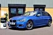 BMW 3 SERIES 2.0 320D M SPORT AUTOMATIC TOURING 5DR !! DAKOTA LEATHER | 26K MILES !! - 1028 - 1