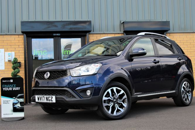 Used SSANGYONG KORANDO in Doncaster for sale