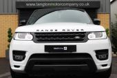 LAND ROVER RANGE ROVER SPORT 3.0 SDV6 AUTOBIOGRAPHY DYNAMIC 5DR !! HUGE SPECIFICATION !! - 866 - 5